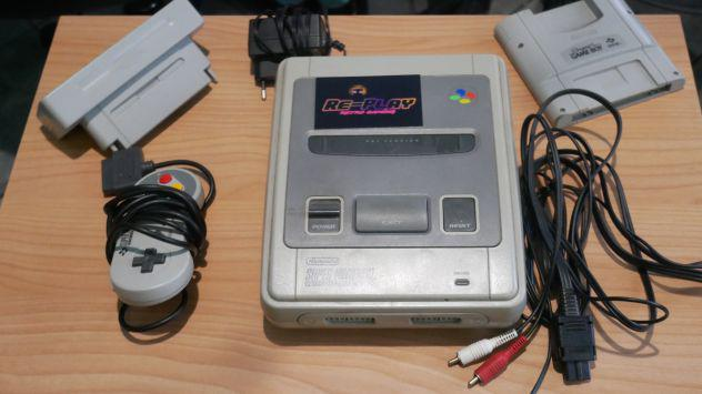 Nintendo snes gameboy player adattatore ntsc giochi