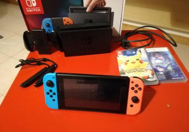 Nintendo switch, accessori e giochi