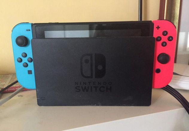 Nintendo switch e accessori super smash bros