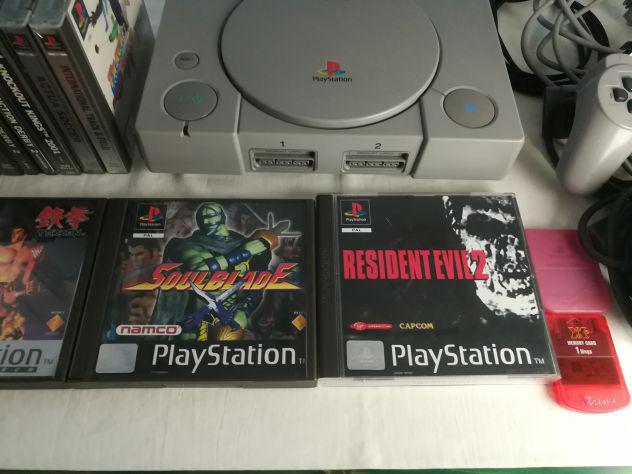 Playstation 1 ps1 console e giochi