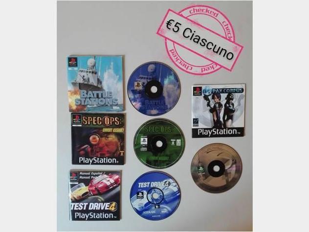 Ps1 console giochi ita usato