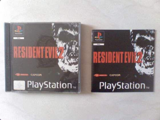 Ps1: resident evil 2 completo & perfetto