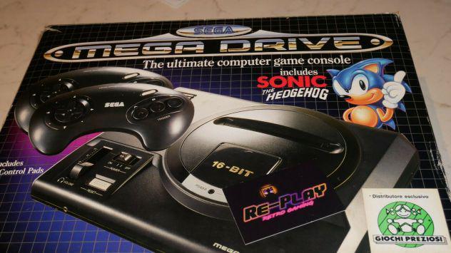 Sega megadrive completo scatolato con giochi