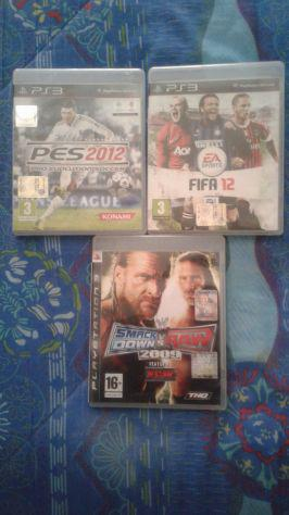 Vendo 3 giochi per playstation 3