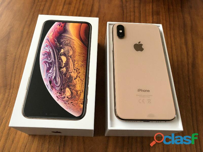 Apple iphone xs 64gb = 400 eur ,iphone xs max 64gb = 430 eur ,iphone x 64gb per 300eur