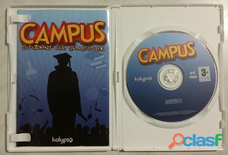 Campus: student life simulation pc dvd l'università ti attende! ed. kalypso nuovo