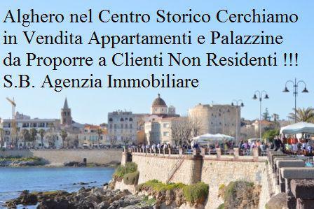 Alghero centro storico cerchiamo appartamenti in vendita per