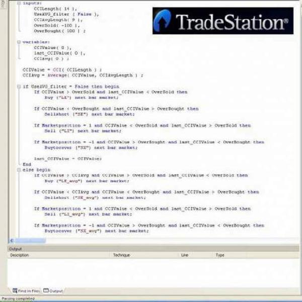 Corso di programmazione avanzato per tradestation 9