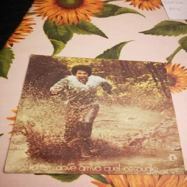 Disco in vinile 45 giri di lucio battisti datato 1976