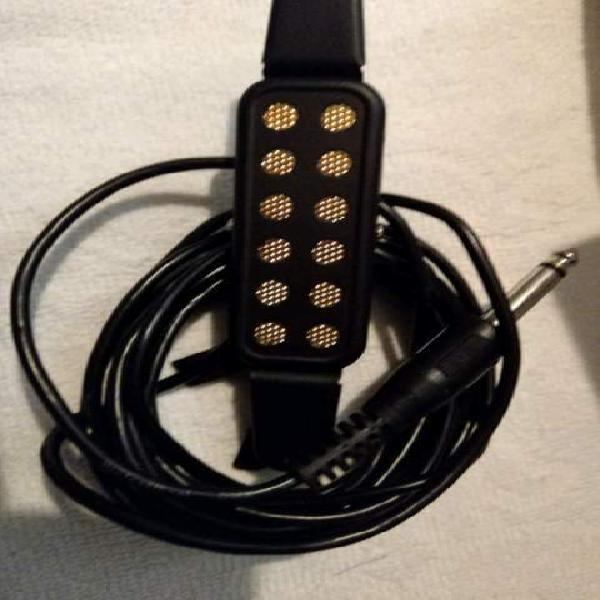 Elettrificatore per chitarra acustica/classica