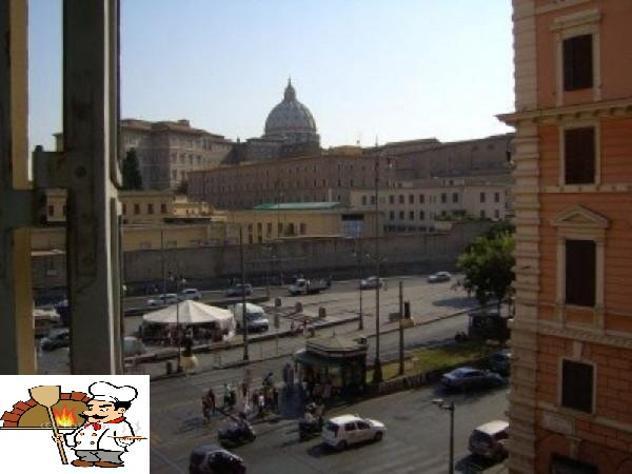 Vaticano,ristorante pizzeria euro 500.000