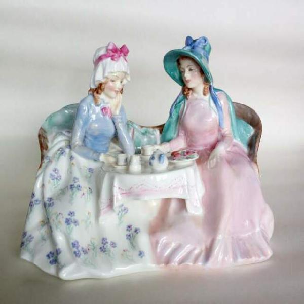 31-statuina porcellana inglese originale royal doulton