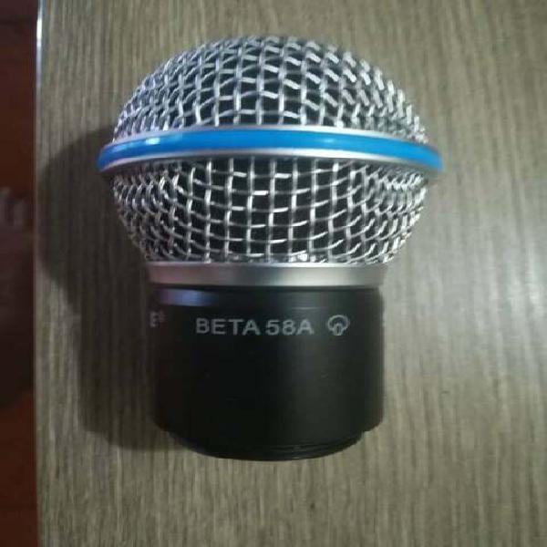 Capsula testina completa ricambio per shure beta 58a