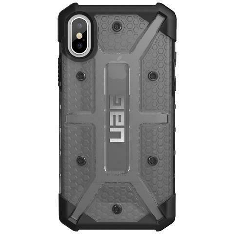 Cover per iphone x colore grigio e nero