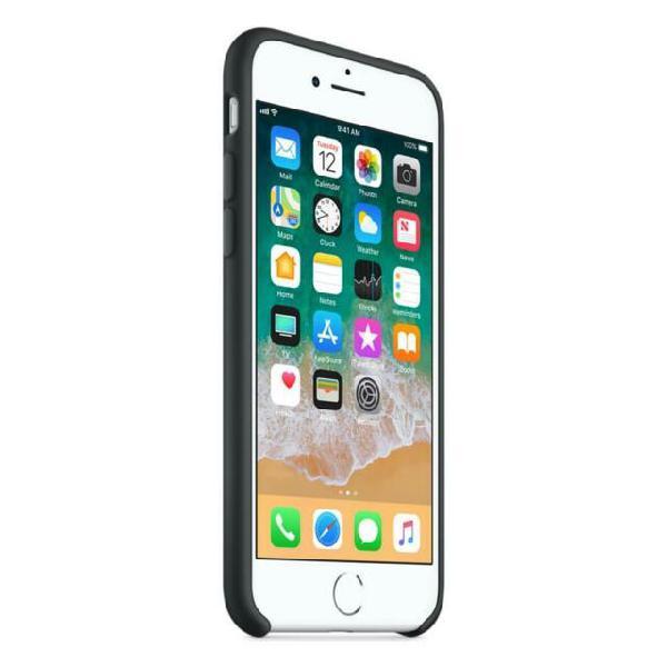 Custodia in silicone per iphone 8 e 7 colore nero