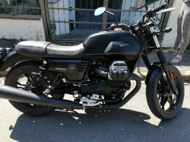 Moto guzzi v7 iii stone nera- 2019