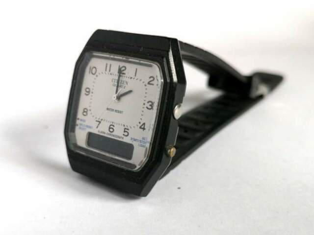 Orologio citizen analogico digitale vintage