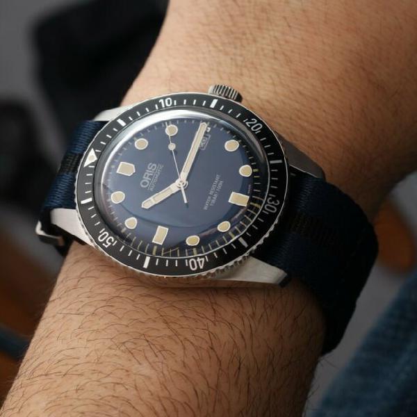 Orologio oris sixty five automatico divers 100m