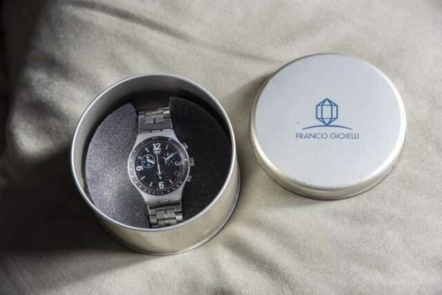 Orologio swatch irony alluminium