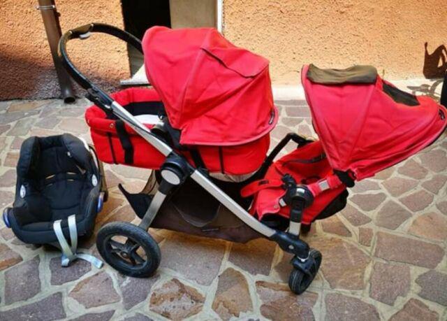 Passeggino fratellare gemellare baby jogger city select