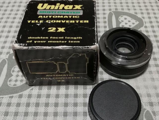 Unitax multi coated adattatore convertitore olympus 2x
