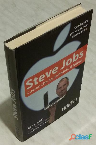 Steve jobs. l'uomo che ha inventato il futuro di j. elliot, william l.simon 1°ed.hoepli, 2011 nuovo