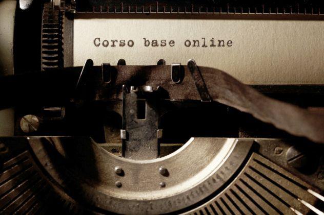 Corso base online di scrittura creativa