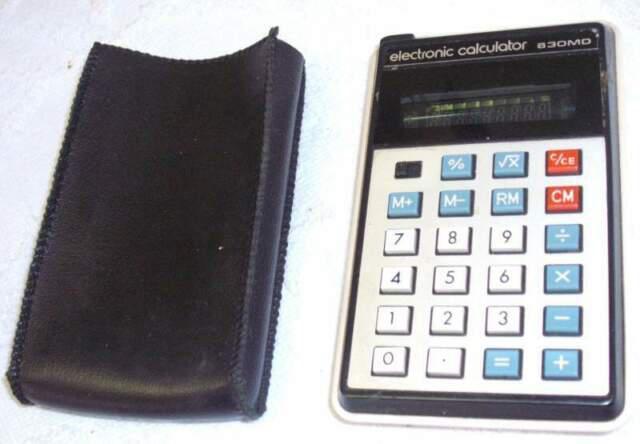 Calcolatrice detron 830md stile casio