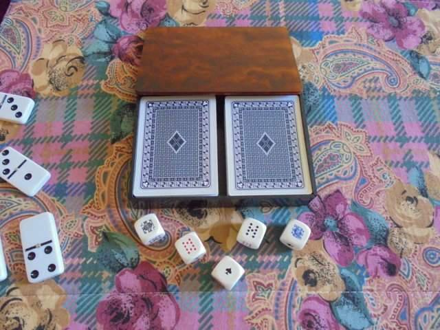 Carte francesi poker dadi
