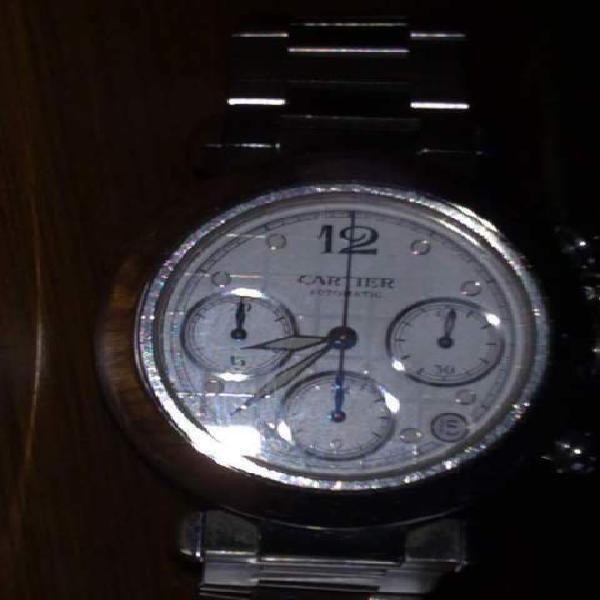 Cartier pasha crono automatico