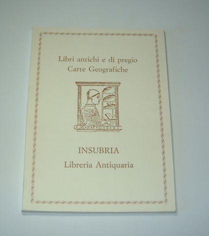Catalogo insubria - nr. 1