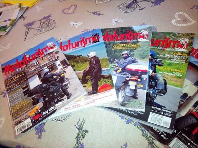 Collezione completa della rivista mototurismo