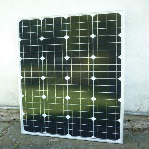 Fotovoltaico mono 100w regolatore 30a con display