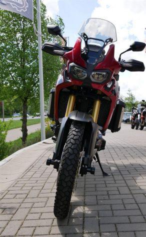 Honda crf1000l africa twin dct
