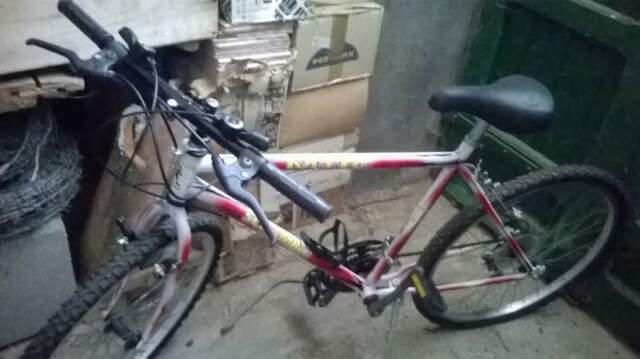 Mountain bike mtb scramble rossa