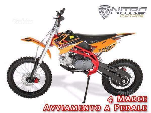 Catena Alta Qualità per Minimoto Minicross ATV Quad Pitbike Moto Cross