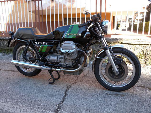 Vendesi moto guzzi 750 s - 1975