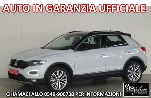Volkswagen t-roc 1.5 tsi style led acc 18 active info