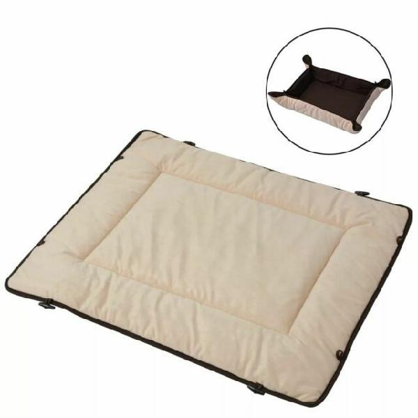 Vidaxl letto per cani marrone 65x80 cm