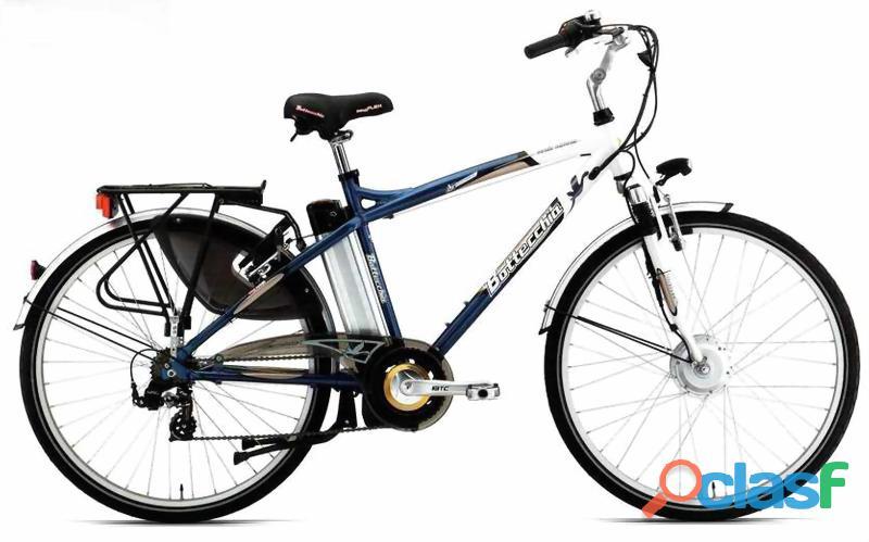 Bici elettrica bottecchia be 2 uomo 7v   pari al nuovo   superaccessiorata.