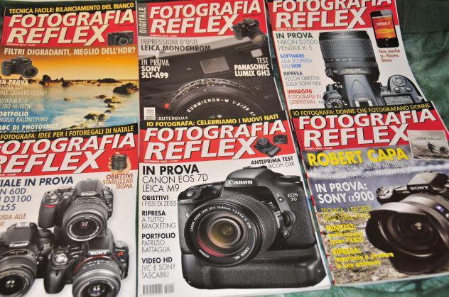 Fotografia reflex e photo teca (mensile cult anni 80)