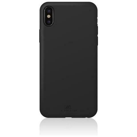 Cover in silicone per iphone x colore nero