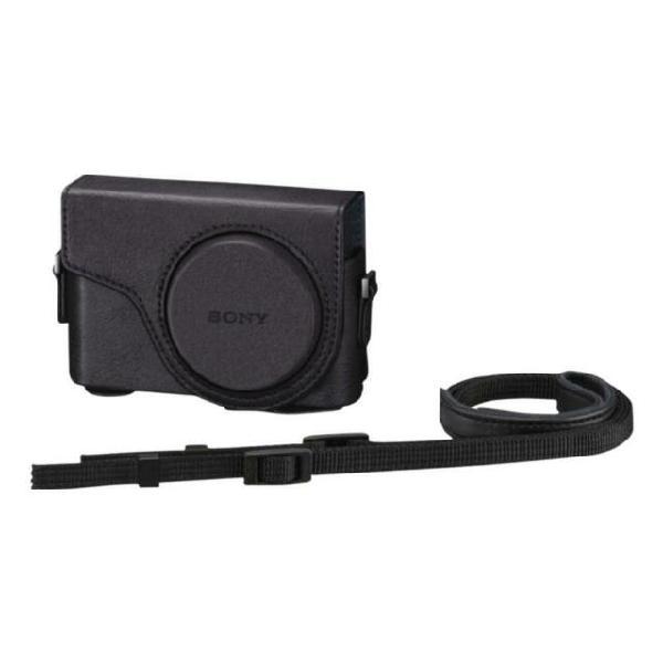 Custodia per fotocamera digitale lcj-wd / b in pelle nero