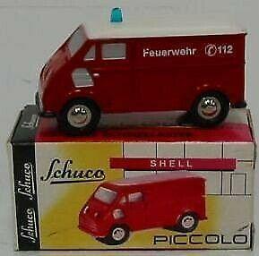 Gw jm2126422 schuco 1553 dkw schnellaster vigili fuoco