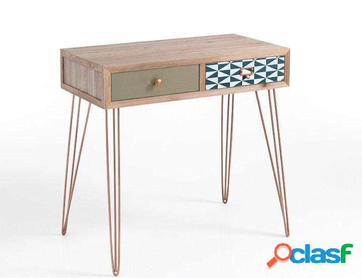 Consolle tavolo da trucco o corridoio legno massello