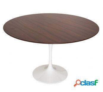Tavolo saarinen ovale o tondo in legno di frassino