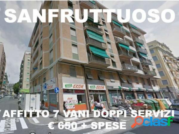 Genova appartamento in affitto 6 locali 650 eur a610