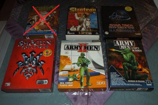 71 cd videogiochi vari per pc (originali)