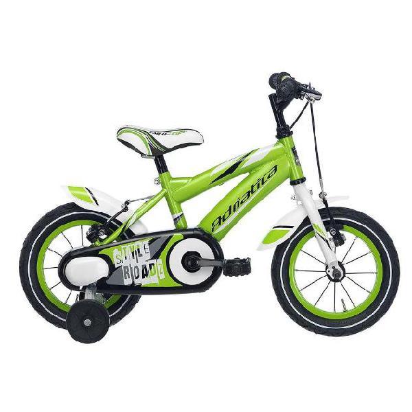 Bicicletta per bambino 14â? 2 freni boy 14 cicli adriatica