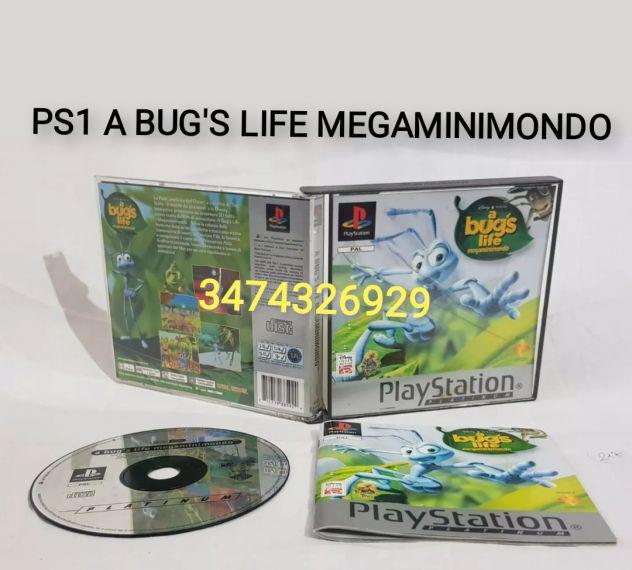Giochi ps1 a bug's life megaminimondo